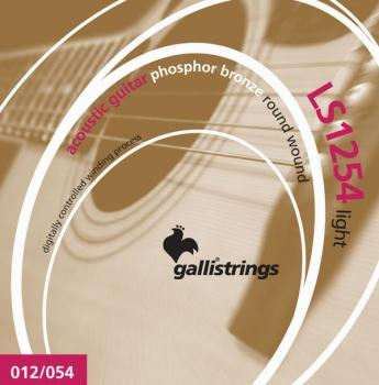 Galli LS1254 Light Guitar Strings
