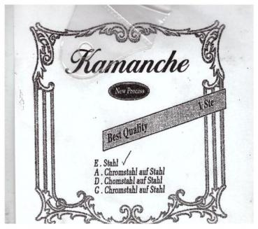 Kamanche Strings