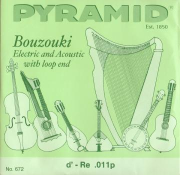 Bouzouki Electric and Acoustic String