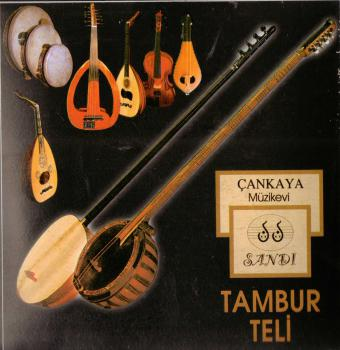 Tambur w. Plectrum Strings Pyramid